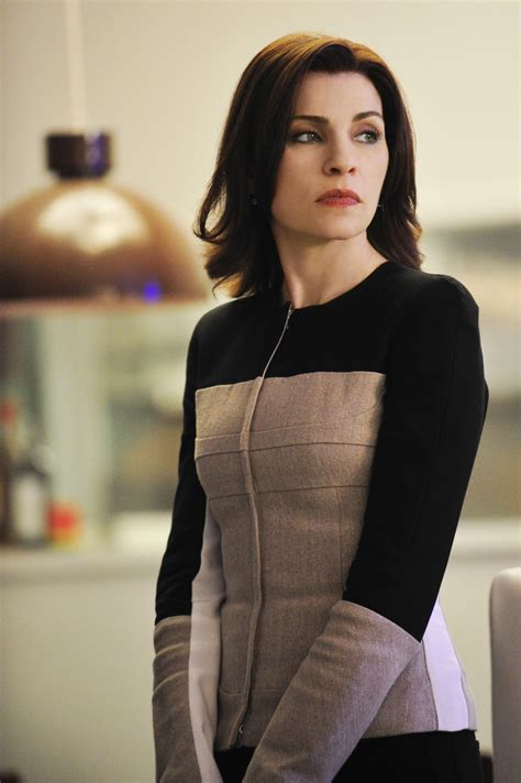 who cuts alicia floricks hair the good wig looking back at the good wife through