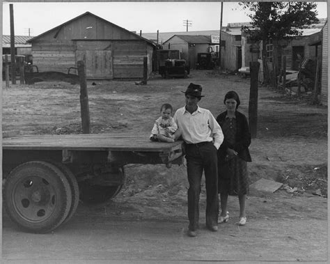 Pinal County Birth Records File Eloy Pinal County Arizona American Family Migratory Cotton Pickers In