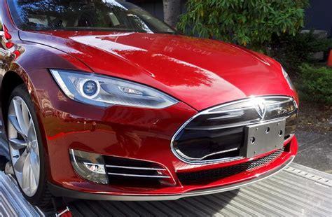 tesla model s front installing the tesla model s front license plate