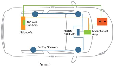 kicker speaker wiring diagrams kicker free engine image