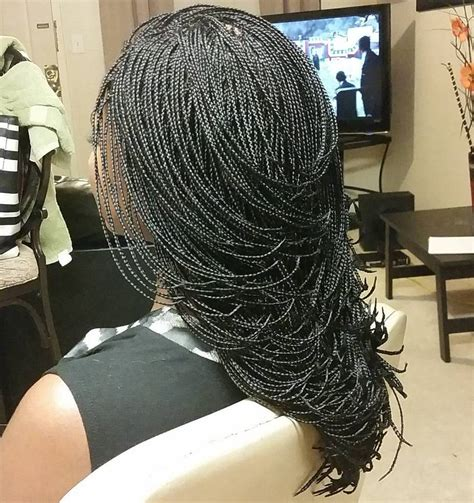 20 Ideas of Classy Micro Braids, Invisible Braids and