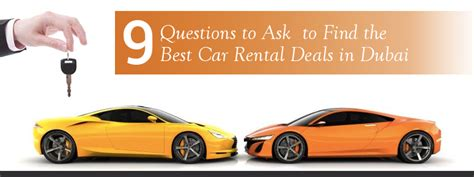 best rent a car deals 9 questions to ask to find the best car rental deals in