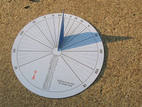 How To Make A Paper Sundial - 15 minute paper craft sundial 7 steps with pictures