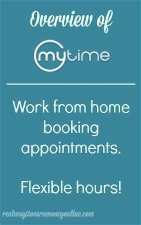 do you want to work from home scheduling appointments