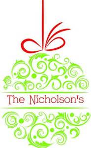 Personalized Christmas Ornaments Free Shipping - christmas words on pinterest christmas bingo christmas subway art