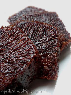 karamel cake bolu sarang semut resep masakan indonesia