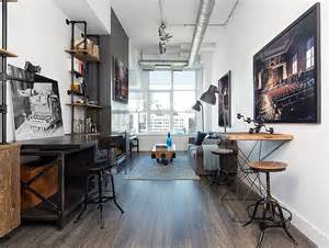 industrial style home 27 ingenious industrial home offices with modern flair