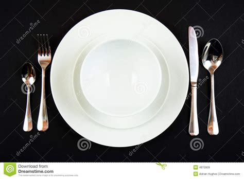 dinner setting place setting for dinner royalty free stock images image