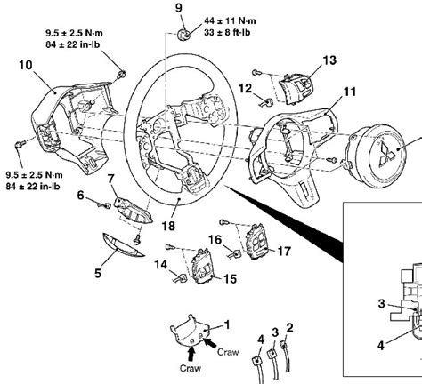 dodge caravan steering wheel horn wiring diagram get