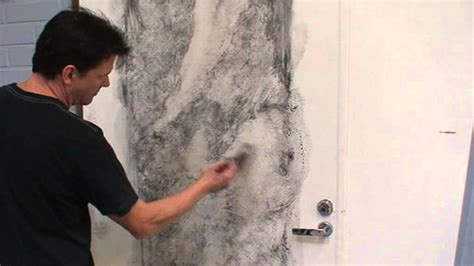 Faux Wall Painting Ideas - white marble imitation painting part 1 youtube