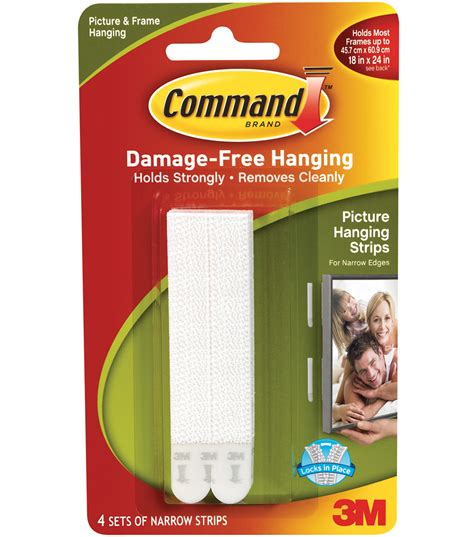 command strips command narrow picture hanging strips white jo ann