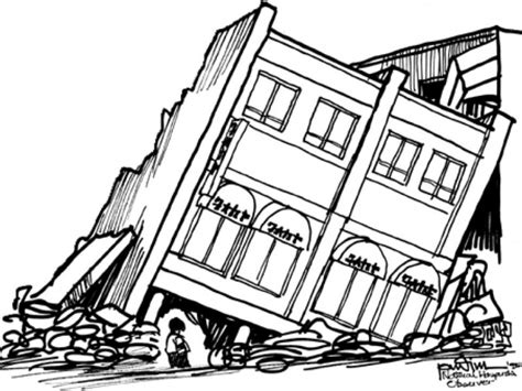 earthquake drawing earthquake drawing www pixshark com images galleries