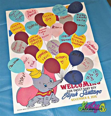 dumbo the flying elephant baby shower ideas photo