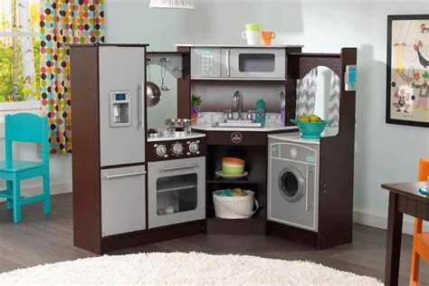 Kidkraft Ultimate Corner Play Kitchen by Ultimate Corner Play Kitchen With Lights And Sounds
