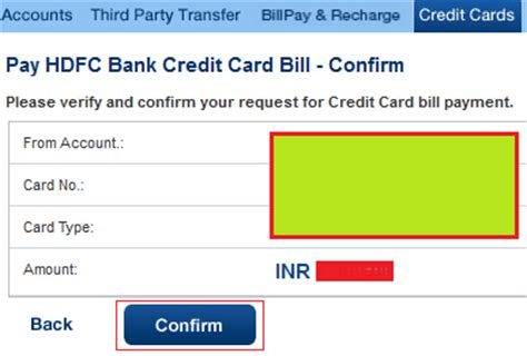 Hdfc Credit Card Bill Sle How To Pay Hdfc Credit Card Bill Using Banking Finance Guru Speaks Banking