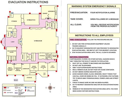 osha emergency plan template is your workplace prepared for an emergency evacuation