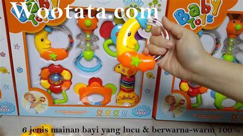 Mainan Bayi Kricik Baby Toys mainan untuk anak bayi 3 bulan baby toys