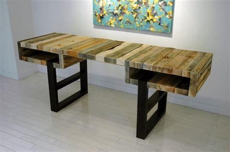 Diy Desk Designs Amazing Pallet Project Ideas For Craft Dearlinks