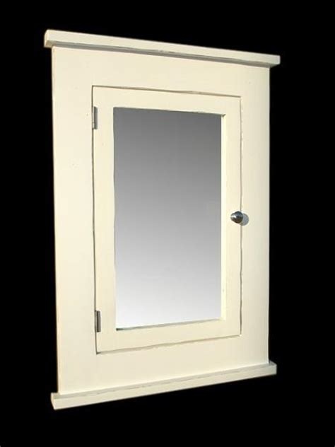Country Medicine Cabinets Country White Medicine Cabinet Solid Wood