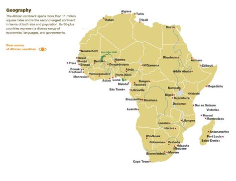 africa map with cities best photos of map of africa with capitals africa map