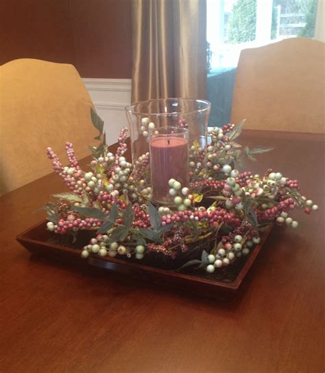 coffee table flower decorations dining room with flowers and candle on square plate