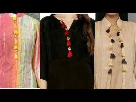 boat neck gala suit ka all new kurta kurti patti designs 2017 neck gala design