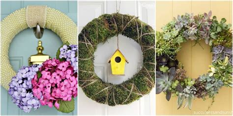spring wreaths diy 15 diy spring wreaths ideas for spring front door
