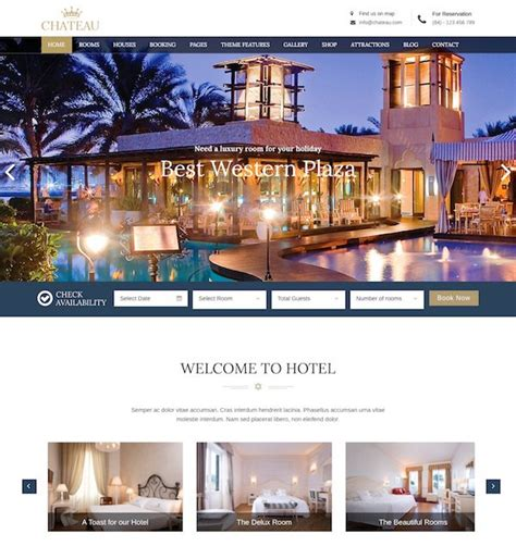theme hotel download hotel wordpress themes premium wordpress themes wp