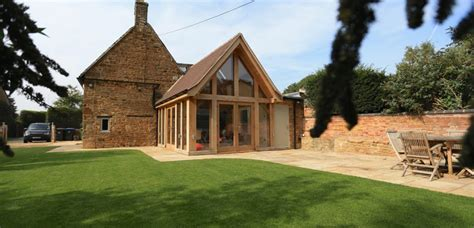 Bungalow Designs by Stone Cottage Oak Extension Medbourne Natural Structures