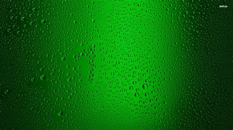 Wallpaper Green Glass | waterdrops on green glass wallpaper