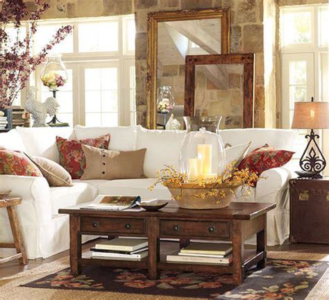 fall colors decor with orange gold brown - Decorating With Fall Colors