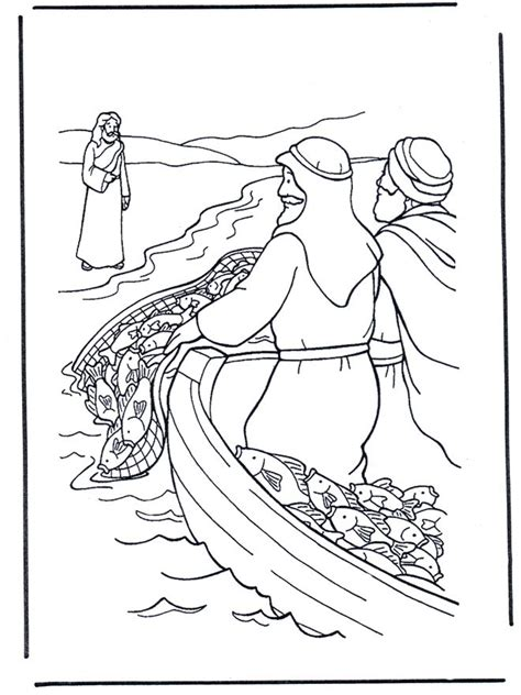coloring pages jesus fish disciples the world s catalog of ideas