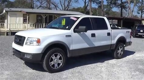 2005 ford f150 2005 ford f 150 crew cab fx 4 for sale leisure used cars