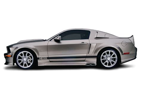 2006 mustang gt exhaust kits 2005 2009 mustang cervini s c series kit w side