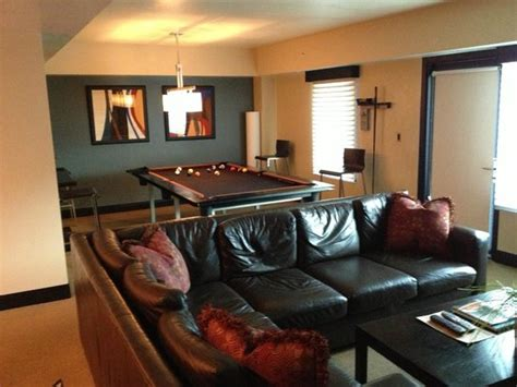 hotels with pool tables in room pool table and family room in suite picture of