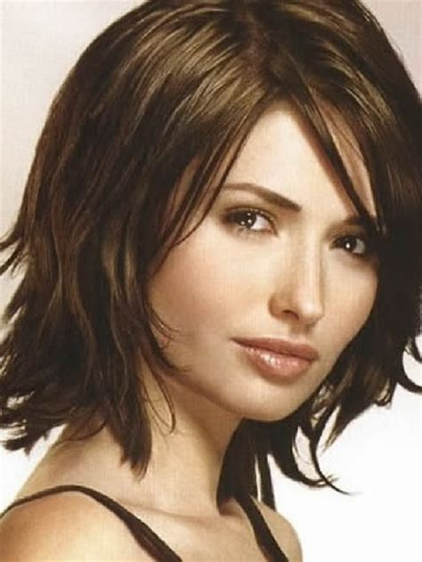 medium length hairstyles with bangs 2015