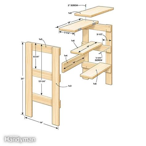 Build A Simple Stool by Woodworking Shop Stool Woodworking Projects Plans