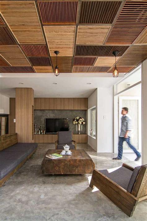 plafond original faux plafond suspendu une solution moderne et pratique