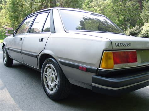 peugeot cars 1985 1985 peugeot 505 turbo diesel with a 5 speed manual runs