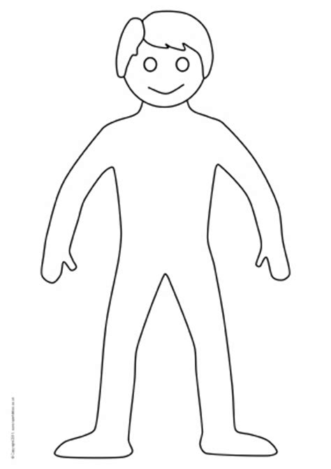 body parts teaching resources printables for early years