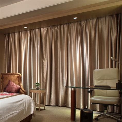 good blackout chagne soundproof room dividing curtains