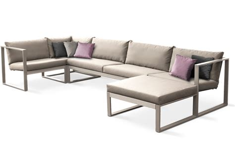 Lounge Sofas by Esquina Lounge Cima Lounge Collection Fueradentro