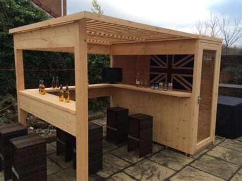American Summer Shed by The Sports Bar Garden Bar Summer House Garden Shed