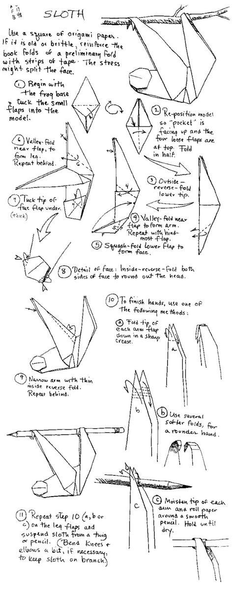 Origami Sloth - origami sloth origami