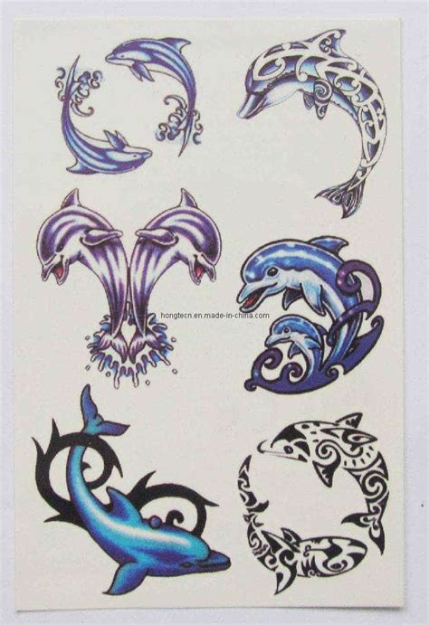 Body Tattoo Aufkleber by China Colorful Body Tattoo Sticker Htst063 China