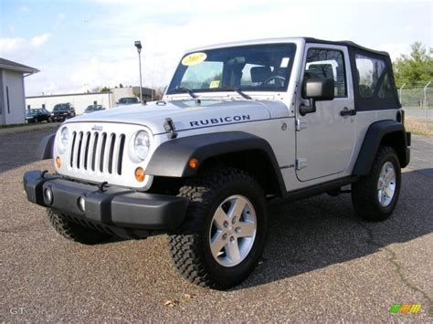 jeep rubicon silver 2007 bright silver metallic jeep wrangler rubicon 4x4