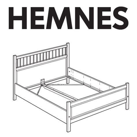 hemnes bed instructions ikea hemnes bed frame replacement parts furnitureparts com
