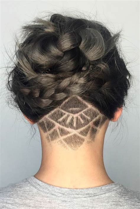 short shaved hairstyle 1000 ideas about short shaved hair 1000 ideas about undercut hairstyles women on pinterest