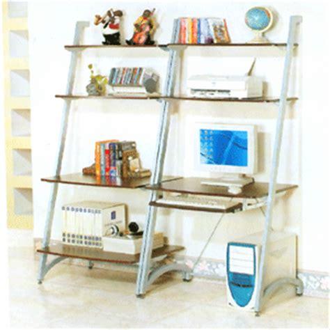 lean to desk for computer desks lean back computer desk and shelf f4633