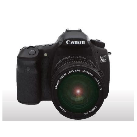 canon eos 60d digital slr camera (lens not included)